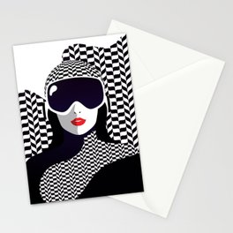 The Lady of the Alps Stationery Cards