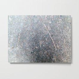 Texture of asphalt, road surface Metal Print