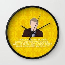 The Blind Banker - John Watson Wall Clock