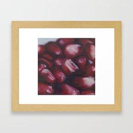 Pomegranate Seeds Framed Art Print