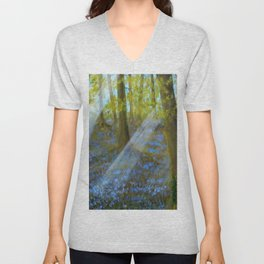 Bluebell Wood Unisex V-Neck