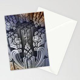 mandelbulb dreams -1- Stationery Cards