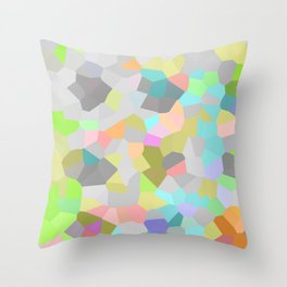 Crystallize 9 Throw Pillow