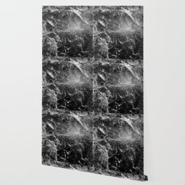 Enigmatic Black Marble #1 #decor #art #society6 Wallpaper