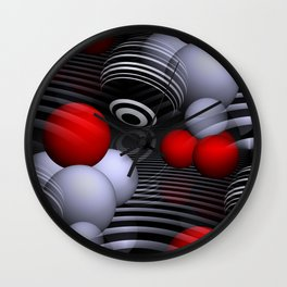 3D for duffle bags and more -2- Wall Clock