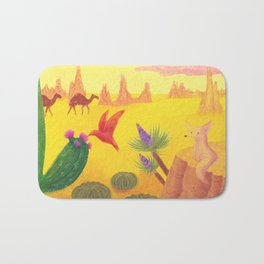In The Desert Bath Mat