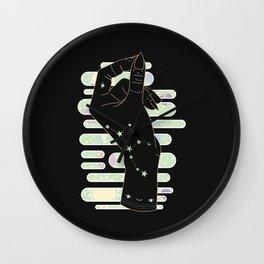 Virgo - Zodiac Illustration Wall Clock