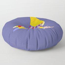 Colombian pigeon Floor Pillow