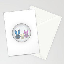 Bunny family Stationery Cards