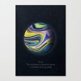 Parallel Planet Canvas Print