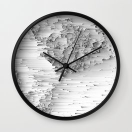Japanese Glitch Art No.1 Wall Clock