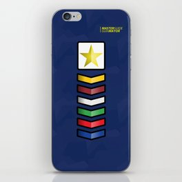 Clases Progresivas iPhone Skin