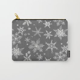 Snow Flakes 08 Carry-All Pouch