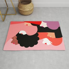Girl Power we persist  #girlpower Rug