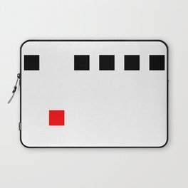 Stay In Line (Square) Laptop Sleeve