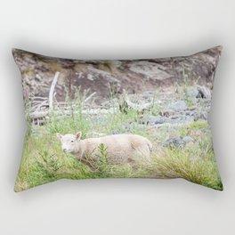 Lamb in Flea Bay. New Zealand Rectangular Pillow
