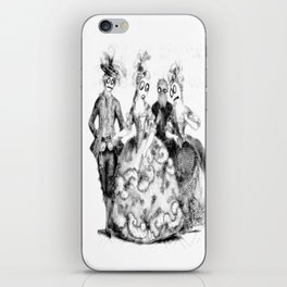 Tea Party Without the Tea iPhone Skin