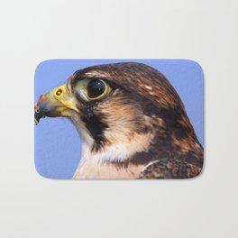 Lanner Falcon's Profile Bath Mat