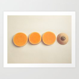 Squash Slices Art Print