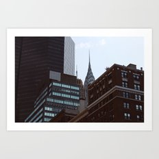 Chrysler Building Obscured Art Print