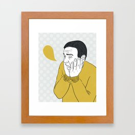 emotion Framed Art Print