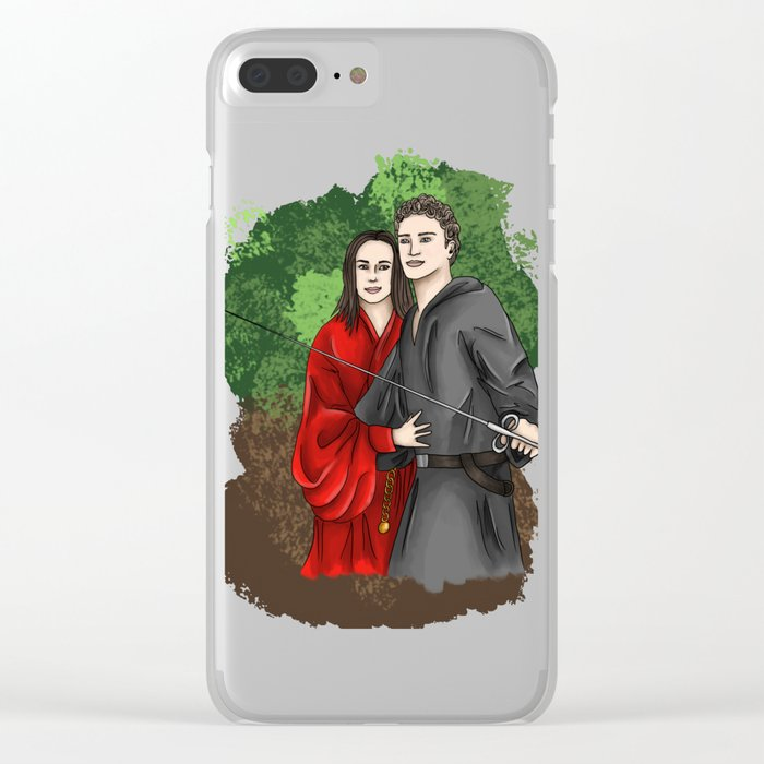 Princess Bride FitzSimmons Clear iPhone Case