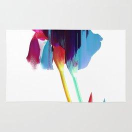 Glitches Iris Rug
