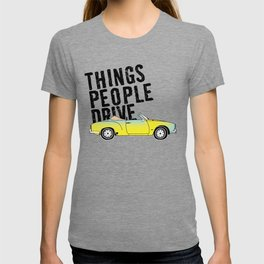 Karman Ghia Things People Drive T-shirt