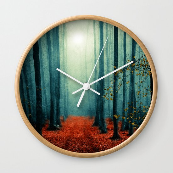 Landscape (colour option) Wall Clock