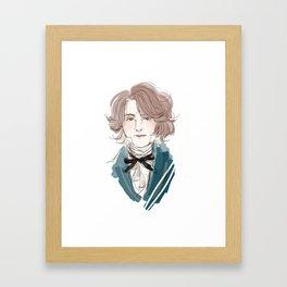 Jehan Prouvaire  Framed Art Print