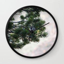 Solitary bird Wall Clock