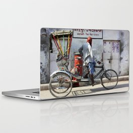 Indian rickshaw Laptop & iPad Skin
