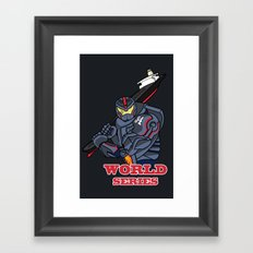 THE world series Framed Art Print