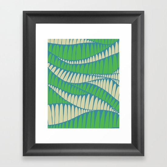 Sahara Desert in pastel colours 1 Framed Art Print