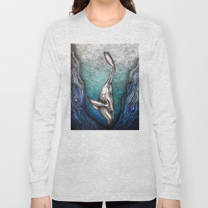 Into the Darkest Depths Long Sleeve T-shirt
