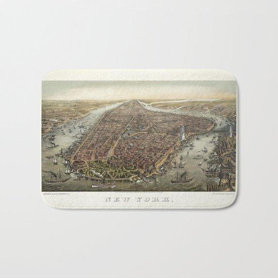New York 1870 Bath Mat