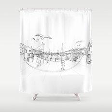 Brixham Shower Curtain