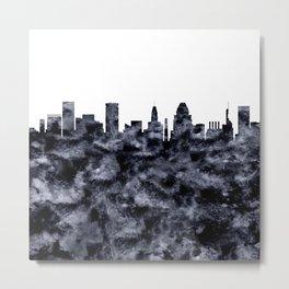 Baltimore Skyline Maryland Metal Print
