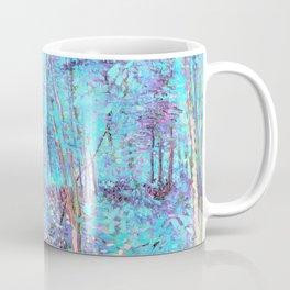Van Gogh Trees & Underwood Aqua Lavender Coffee Mug