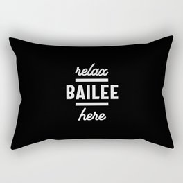 Bailee Personalized Name Birthday Gift Rectangular Pillow