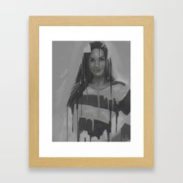 What are you drawing Ryan? // 167 Framed Art Print