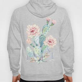 Prettiest Cactus Rose by Nature Magick Hoody