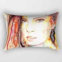 A Soul Awakened Rectangular Pillow