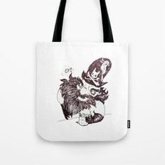 Blackbeard Tote Bag