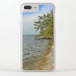 Gathering at the River II Clear iPhone Case