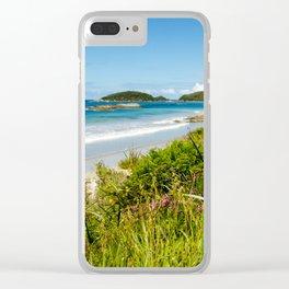 Perkins Beach, Western Australia Clear iPhone Case