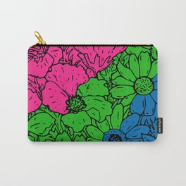 Polyamorous Flowers Carry-All Pouch