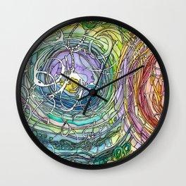 Watercolor Loe Wall Clock
