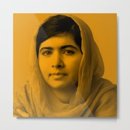 Malala Metal Print