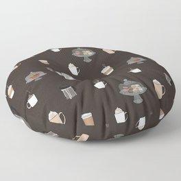 Coffee Shop Floor Pillow